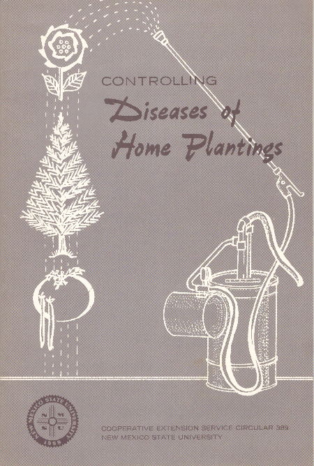 CONTROLLING DISEASES OF HOME PLANTINGS. Emroy L. Shannon.