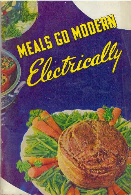 MEALS GO MODERN ELECTRICALLY.