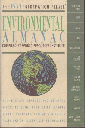 ENVIRONMENTAL ALMANAC.; Compiled. World Resources Institute
