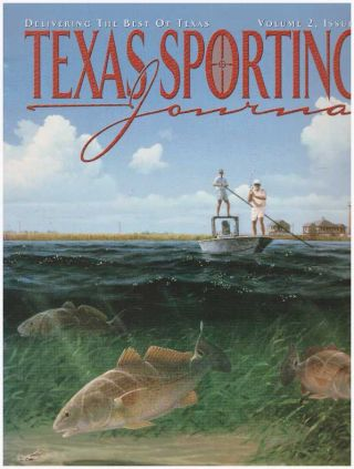 TEXAS SPORTING JOURNAL.; Volume 2, Issue 1, Subscriber's Copy