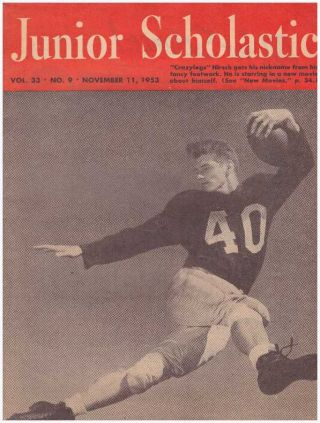 JUNIOR SCHOLASTIC MAGAZINE; November 11, 1953