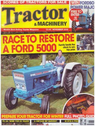 TRACTOR & MACHINERY MAGAZINE; World's Best-Selling Tractor Magazine