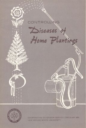CONTROLLING DISEASES OF HOME PLANTINGS. Emroy L. Shannon