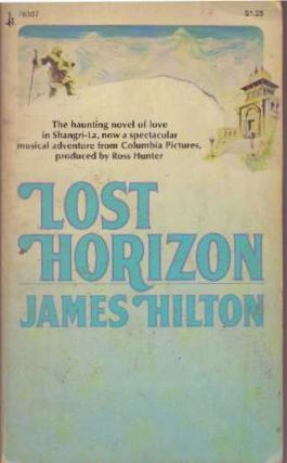 LOST HORIZON. James Hilton