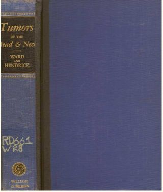 DIAGNOSIS & TREATMENT OF TUMORS OF THE HEAD AND NECK; (Not including the Central Nervous System)....